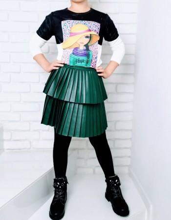 Spódnica plisowana dla dziewczynki