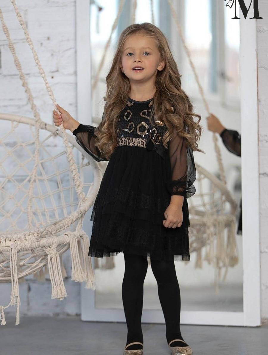Elegancka - przepięknie zdobiona tiulowa sukienka