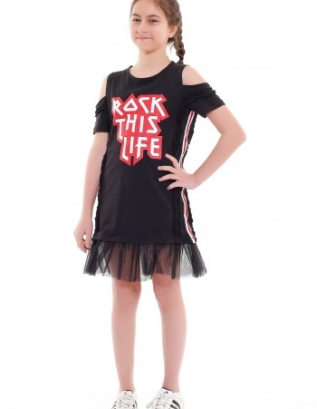 "LETNIA SUKIENKA ""ROCK THIS LIFE"""