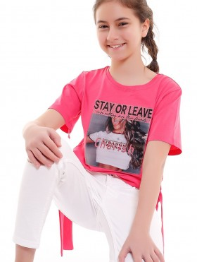 """BLUZKA """"STAY OR LEAVE"""""""