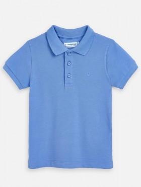 Koszulka polo basic z krótkim rękawem dla chłopca