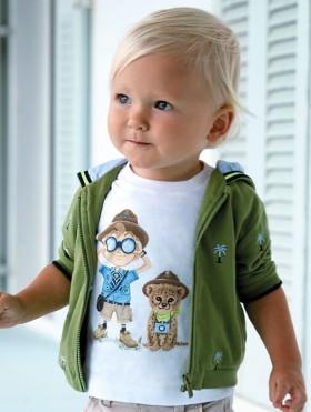Koszulka odkrywcy dla chłopca Baby