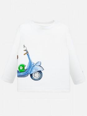 Koszulka z długim rękawem dla chłopca Baby