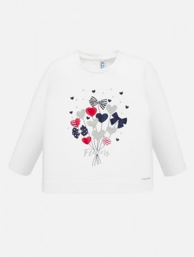 Koszulka z nadrukiem dla dziewczynki Baby