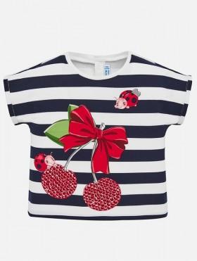 Koszulka w paski dla dziewczynki Baby