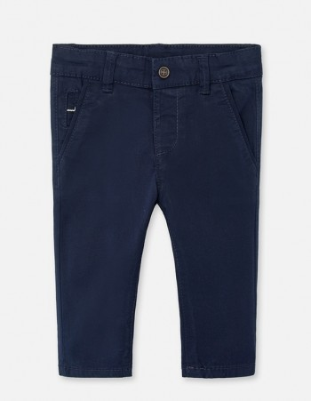 Spodnie typu chinos slim fit dla chłopca Baby