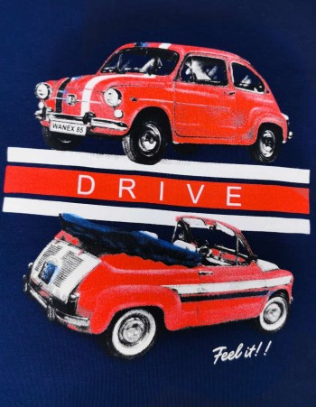 BLUZKA DLA CHŁOPCA  ''DRIVE''