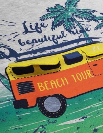 "KOMPLET 2-CZĘŚCIOWY ""BEACH TOUR"""