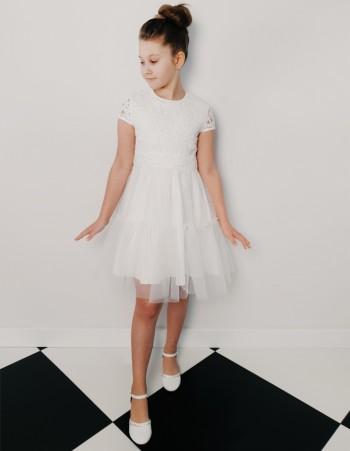 Koronkowa Sukienka Dziewczęca