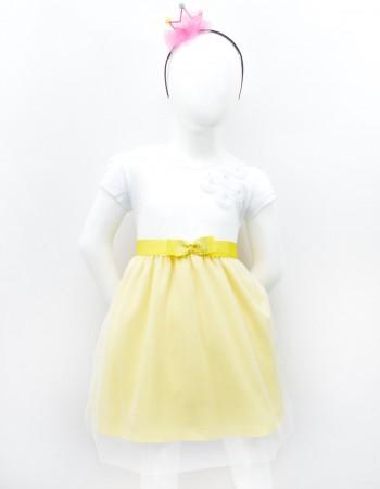 Sukienka z wstążką