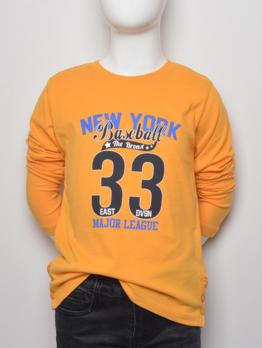 MUSZTARDOWA BLUZKA ''NEW YORK''