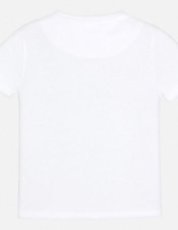 Koszulka z krótkim rękawem z wrotkami dla chłopca
