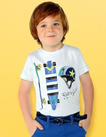 Koszulka z krótkim rękawem Skate dla chłopca
