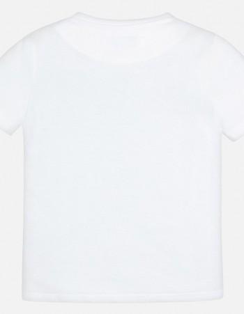 Koszulka z nadrukiem basic dla chłopca