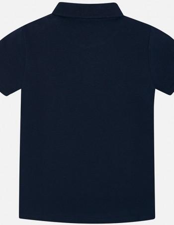 Koszulka polo z krótkim rękawem basic dla chłopca
