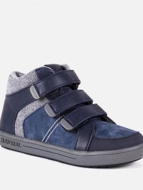 Buty w stylu sportowym kontrastowe dla chłopca