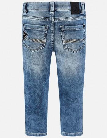 Długie spodnie jeansowe z kieszeniami dla chłopca