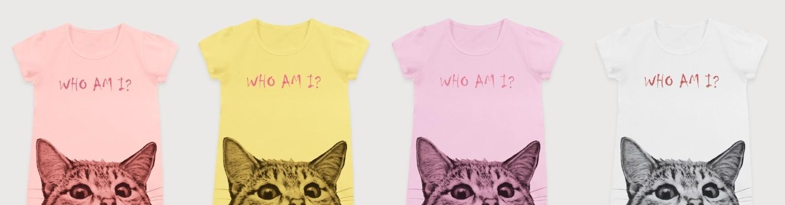 T-Shirt z Kotem